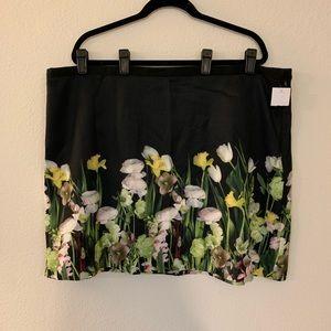 Flower photo skirt - Victoria Beckham for Target